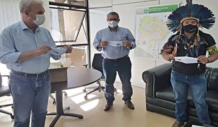Cerca de 56,2 mil máscaras foram distribuídas