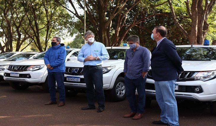 As caminhonetes foram adquiridas com recursos próprios da Iagro e somam R$ 900 mil em investimentos.