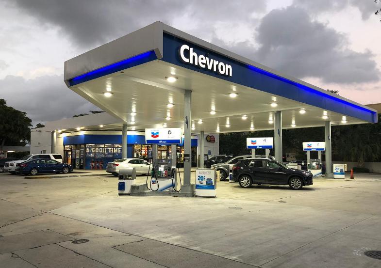 Às 8h10 (de Brasília), a ação da Chevron operava em baixa de 2,3% nos negócios do pré-mercado em Nova York.