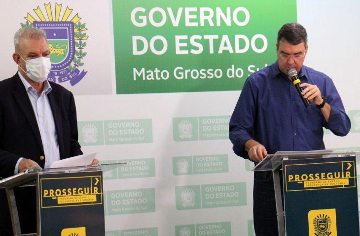 O secretário Estadual de Saúde, Geraldo Resende, também destacou a importância do Programa