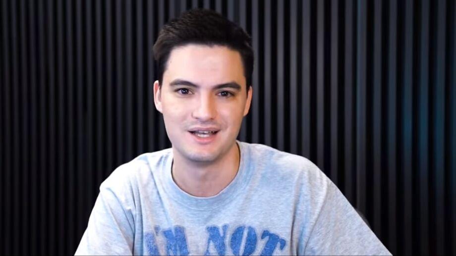 O youtuber recebeu uma série de ameaças por bolsonaristas
