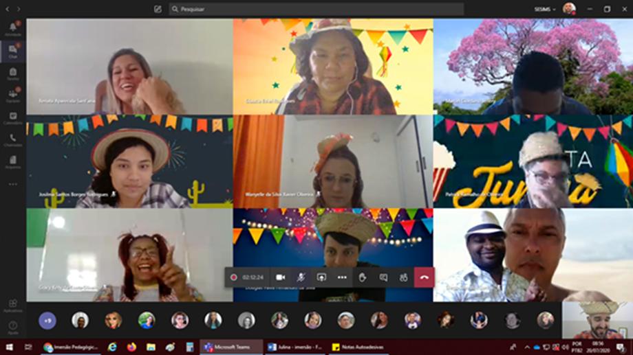 Arraial Virtual dos Sesi