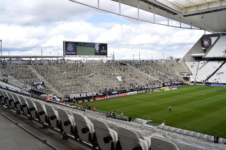 O motivo da brincadeira é que o banco estatal cobra, ao todo, R$ 536 milhões do Corinthians pelo financiamento do estádio inaugurado em 2014