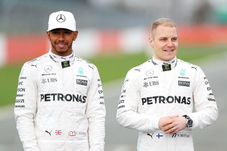 O mais rápido foi o finlandês Valtteri Bottas, que anotou 1min25s873 e superou seu companheiro Lewis Hamilton em 0s138.