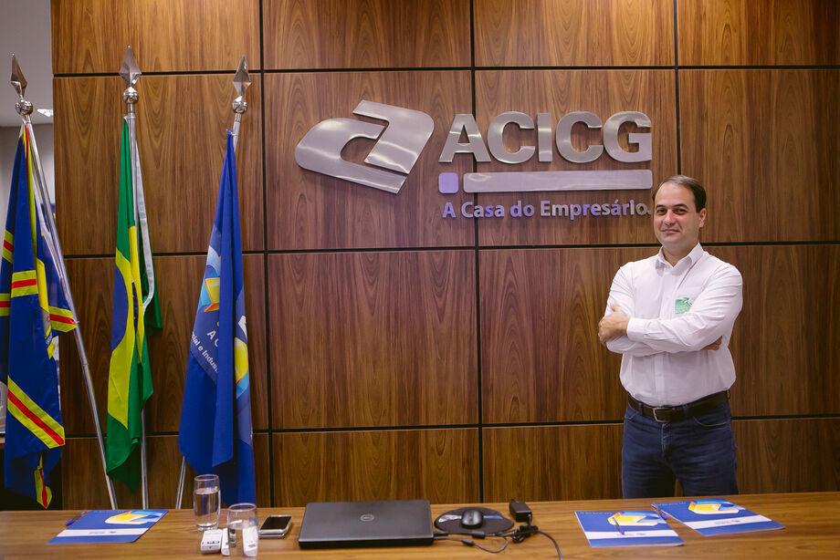Presidente da ACICG, Renato Paniago