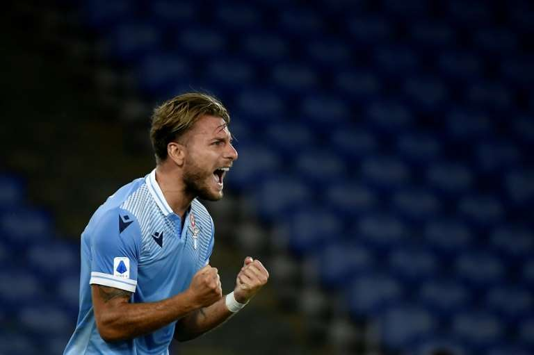 Ciro Immobile, atacante da Lazio, conquistou a artilharia do Campeonato Italiano