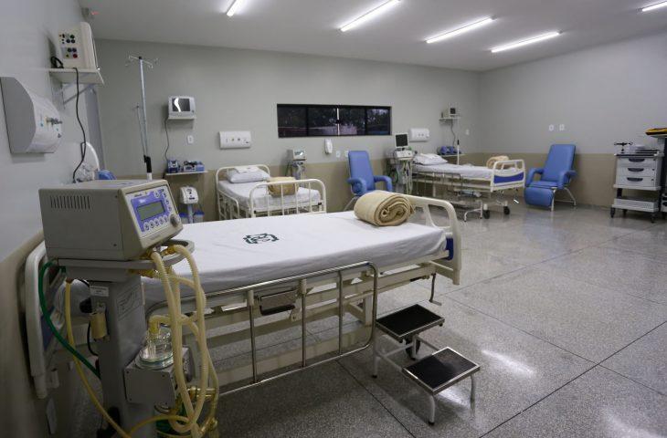 Na agenda, foi entregue a ampliação do Hospital Marechal Rondon