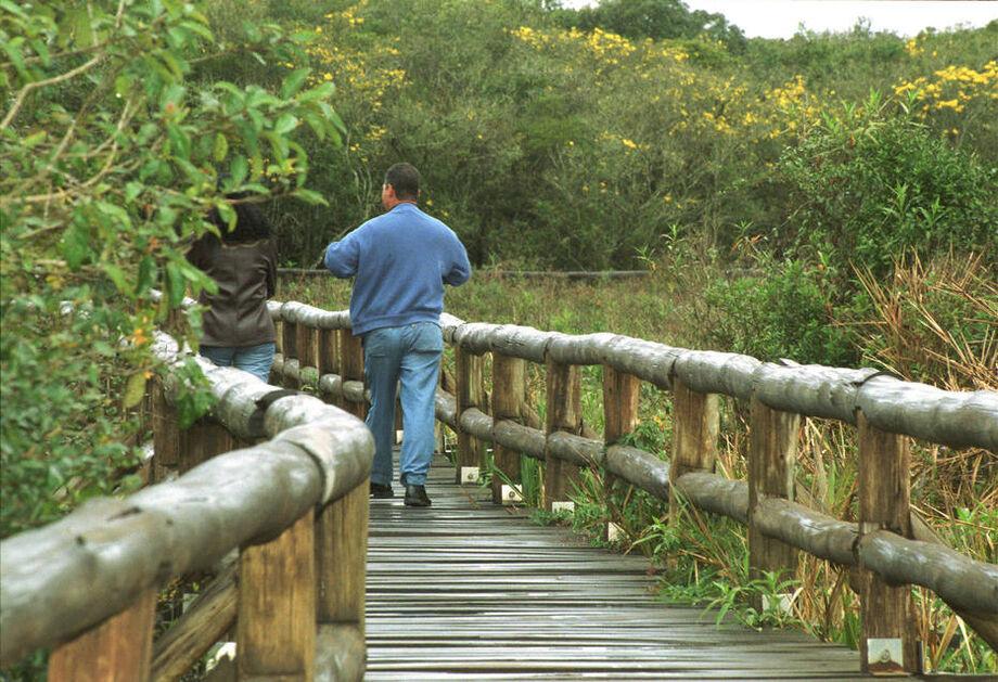 Parque Ecológico da Várzea, em Embu Guaçu, região metropolitana de São Paulo