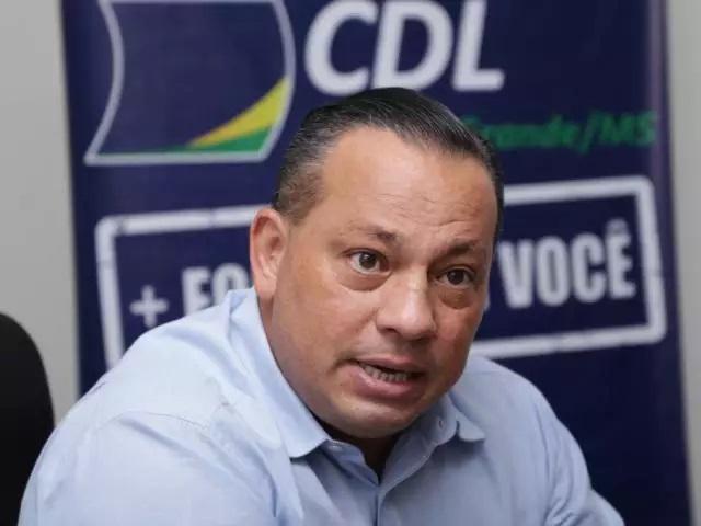 O presidente da CDL-CG (Câmara de Dirigentes Lojistas de Campo Grande), Adelaido Vila.