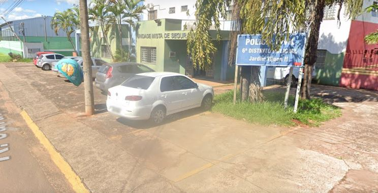 A 6ª Delegacia de Polícia de Campo Grande localizada no Jardim Tijuc