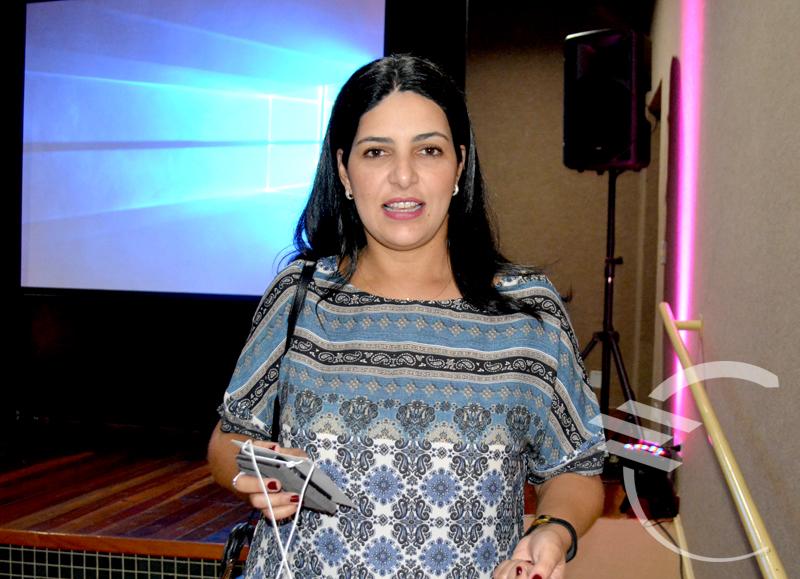 Subsecretária de Políticas Públicas para as Mulheres, Luciana Azambuja