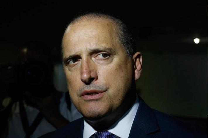 O ministro da Cidadania Onyx Lorenzoni.