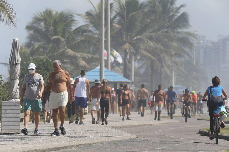 Se fosse um país, o Estado do Rio seria o 21º do mundo com mais infectados.