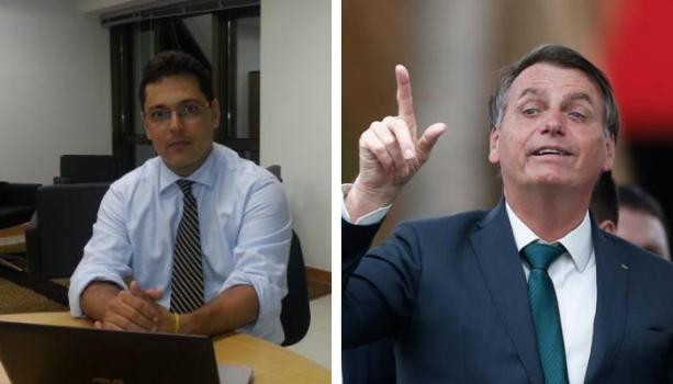 O 'pedido' é um novo capítulo relacionado à indicação de Bolsonaro à vaga no Supremo
