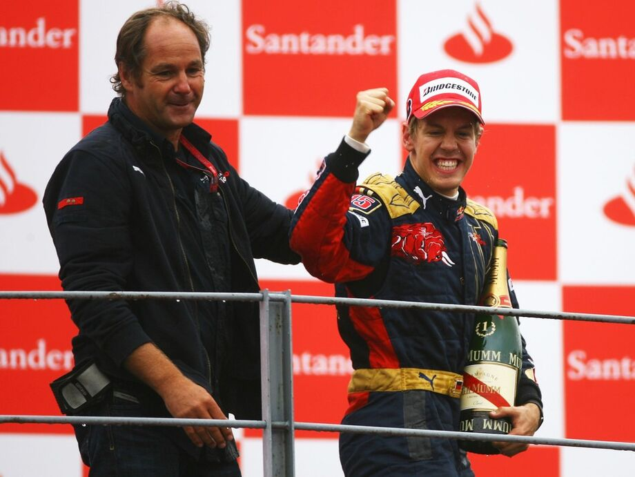Gerhard Berger, ex-chefe de Vettel