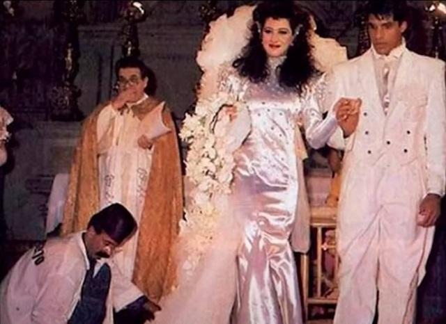 A atriz Claudia Raia contou que não guardou vestido usado em casamento com Alexandre Frota