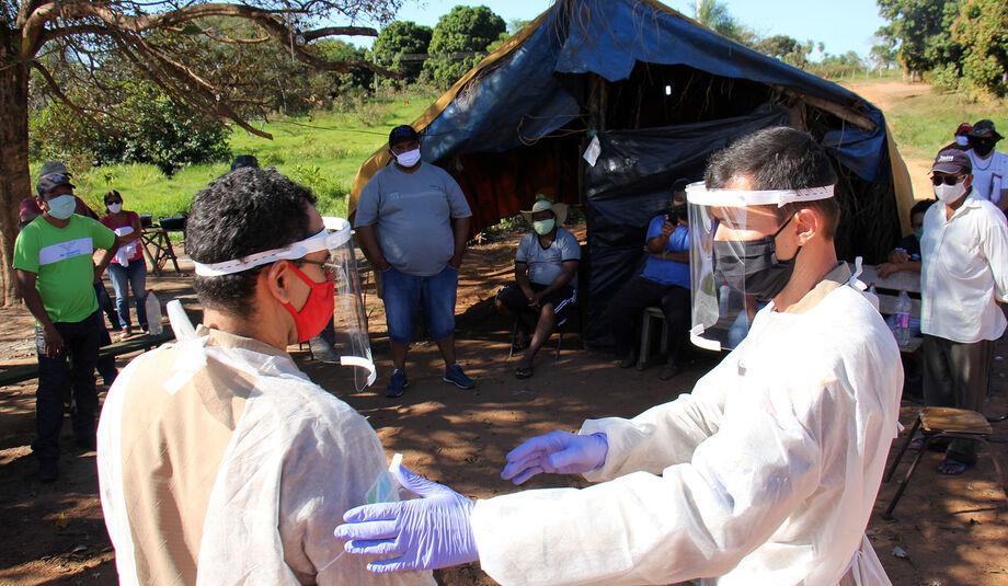 O município de Aquidauana está recebendo mais um reforço na luta contra a propagação do coronavírus em suas aldeias