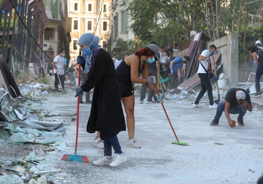 Beirute em cenário apocalíptico
