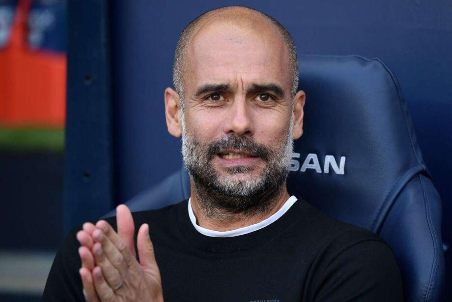 O técnico espanhol Pep Guardiola