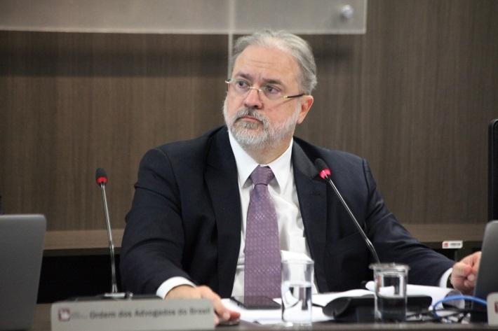 O procurador-geral da República, Augusto Aras.