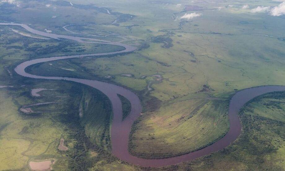 O Pantanal sul-mato-grossense, exemplo da biodiversidade brasileira