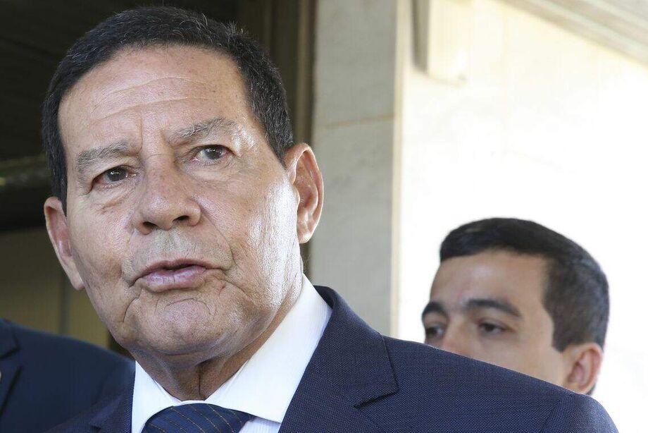 O vice-presidente da República, Hamilton Mourão