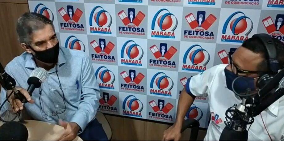 O prefeito de Maracaju Maurílio Azambuja (MDB)