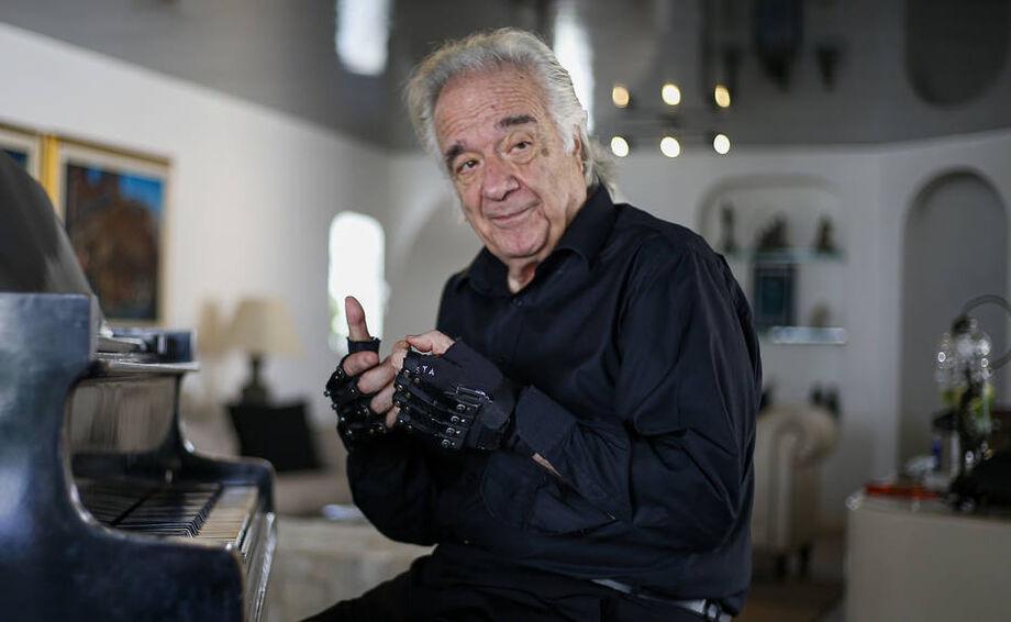 O pianista e maestro João Carlos Martins