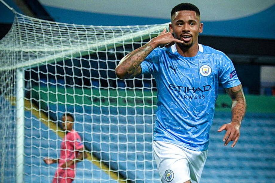 Gabriel Jesus marcou o gol da vitória do Manchester City sobre o Real Madrid