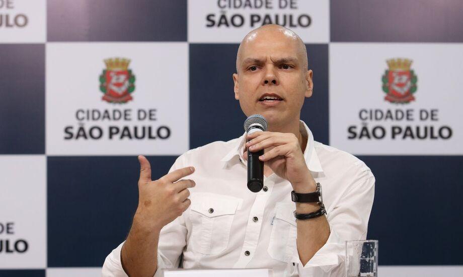 O prefeito da capital paulista, Bruno Covas.