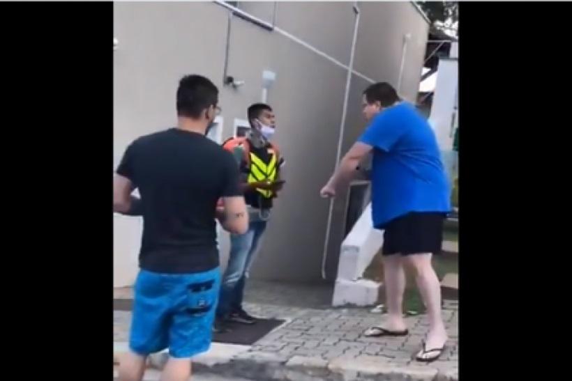 Um vídeo com cenas de racismo viralizou nas redes sociais desta última sexta-feira (7/8).