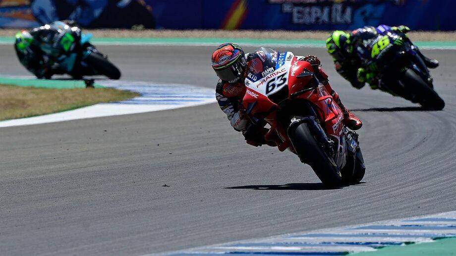 O piloto da Avintia Ducati conseguiu a quinta pole da carreira na MotoGP