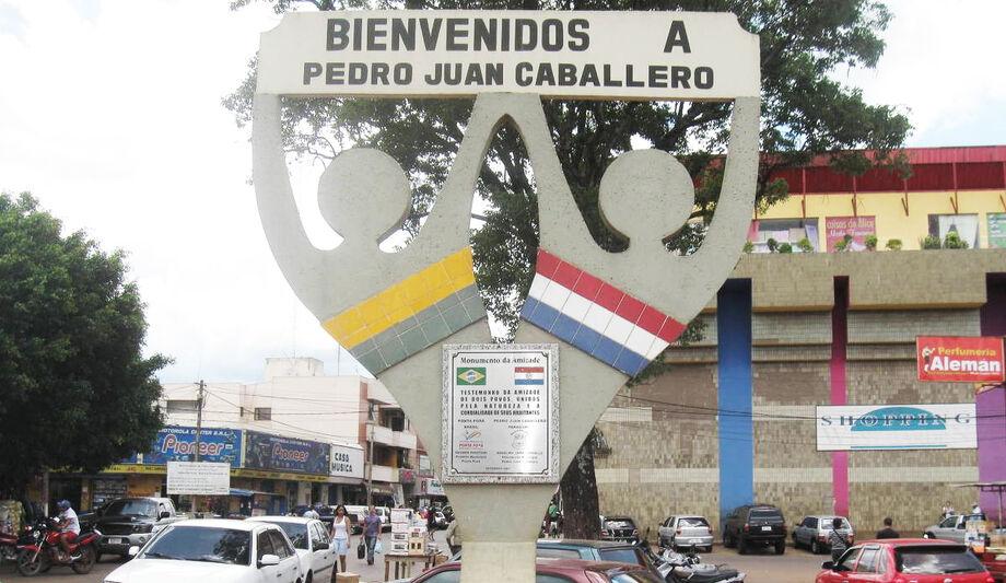 A fronteira entre Pedro Juan Caballero e Ponta Porã é a que mais vem sendo discutida