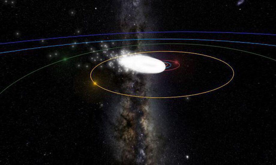 De vez em quando, o planeta Terra atravessa a órbita de uma corrente de meteoróides