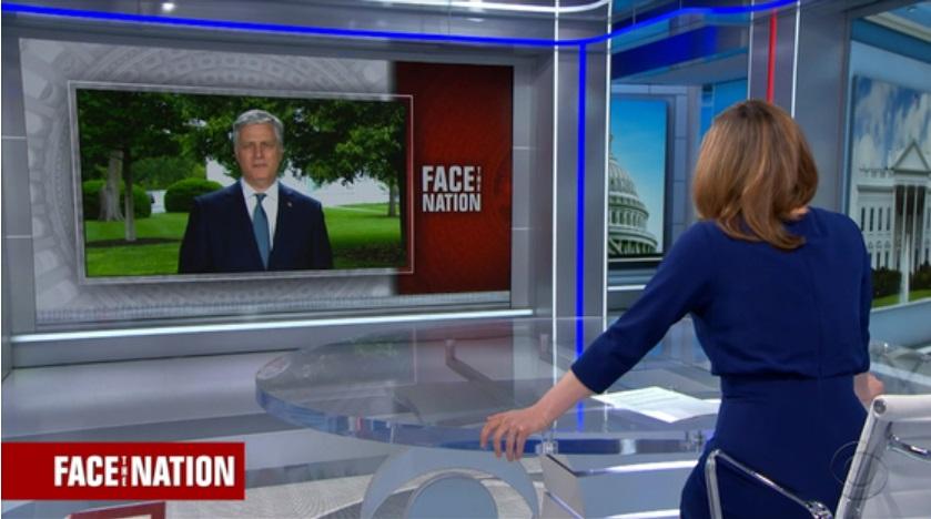 O conselheiro de segurança nacional da Casa Branca foi entrevistado no programa Face the Nation, da CBS