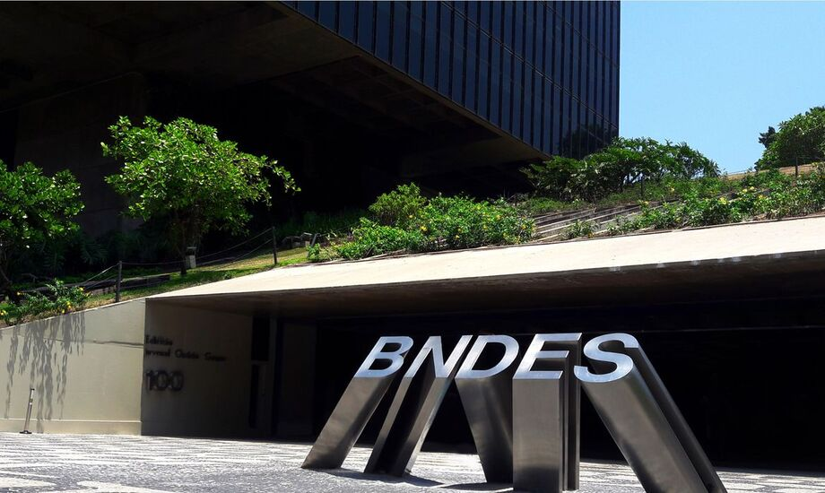 Sede do Banco Nacional de Desenvolvimento Econômico e Social (BNDES) no Rio de Janeiro, Brasil