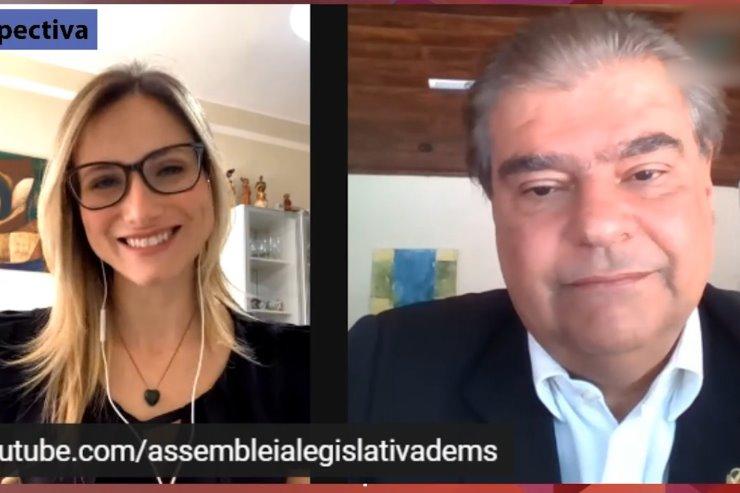Livia Machado entrevista o senador Nelsinho Trad