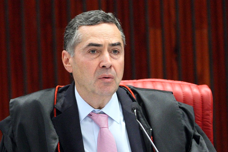 O presidente do Tribunal Superior Eleitoral (TSE), ministro Luís Roberto Barroso.