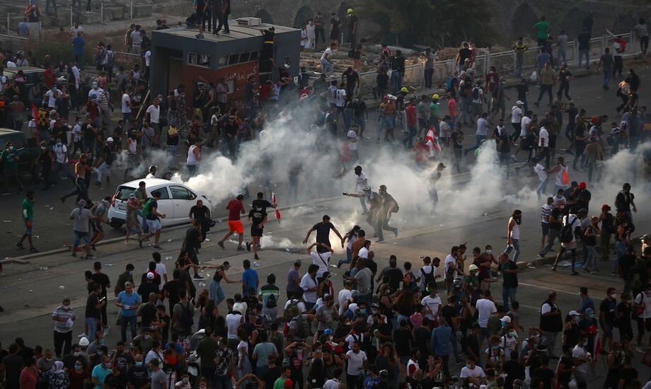 Protestos exigem reformas no Líbano