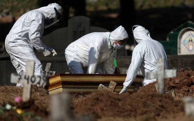 Ministério da saúde confirma 1.175 mortes nessas ultimas 24 horas  em decorrência do novo coronavírus
