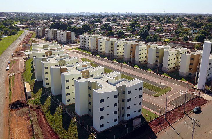 Com 160 apartamentos de 45 metros quadrados, o Residencial Jardim Mato Grosso está previsto para ser entregue ainda este ano.