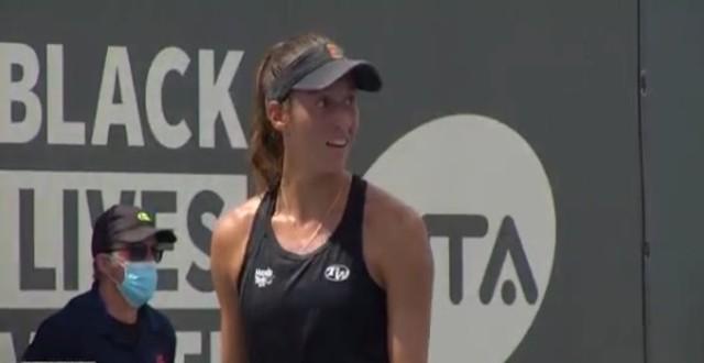 A tenista brasileira Luisa Stefani
