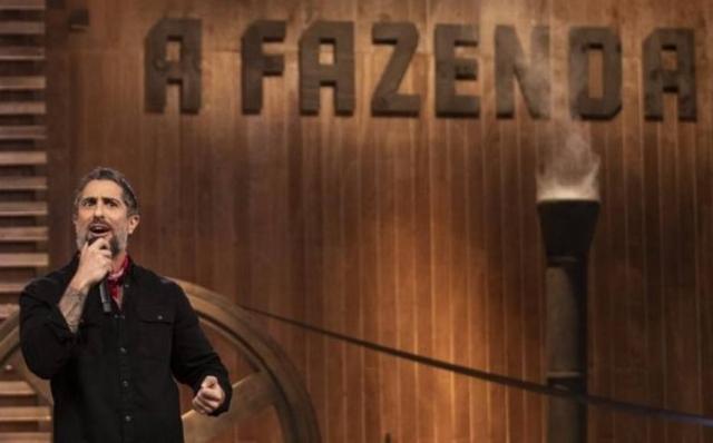 O apresentador de 'A Fazenda', Marcos Mion