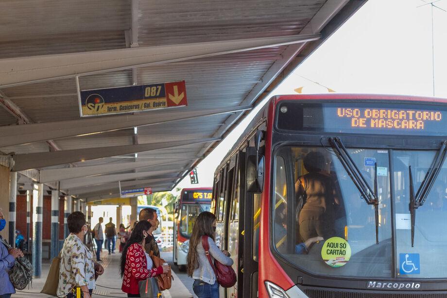 O estudo da entidade rio-grandense constatou que o transporte público é seguro