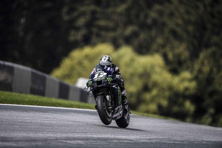 Viñales chegou à décima pole da carreira na MotoGP, a primeira dele nesta temporada.