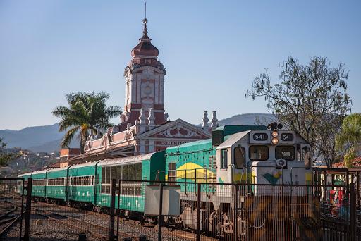 Trem da Vale em Ouro preto