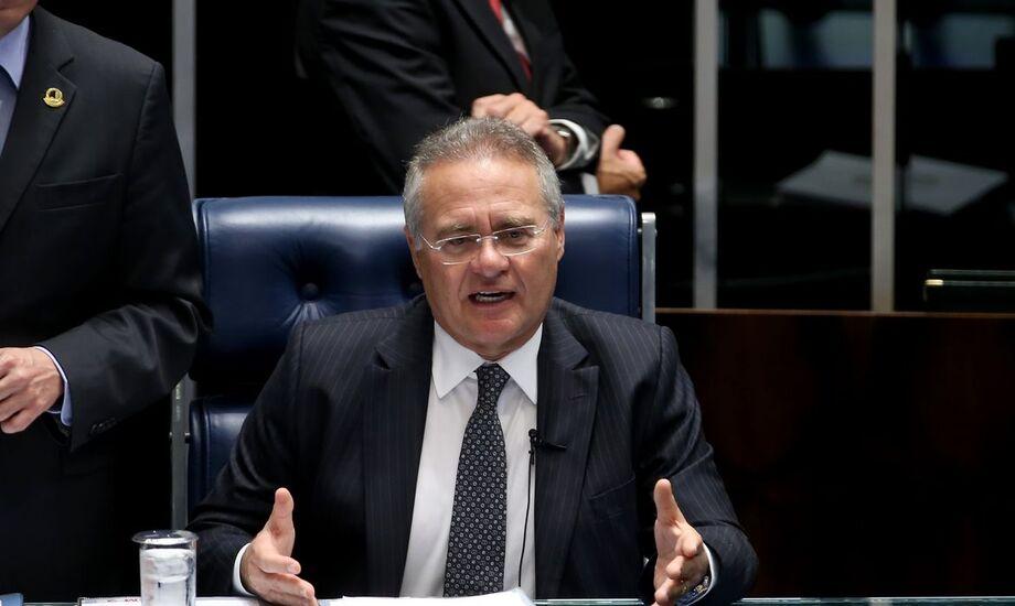 O ex-presidente do Senado, Renan Calheiros (MDB-AL)