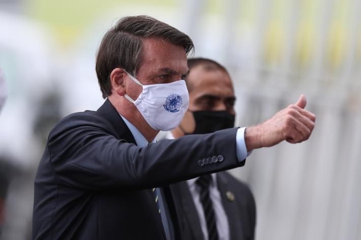 Em nota divulgada no domingo, a Secretaria-Geral da Presidência da República afirmou que Bolsonaro se mostra favorável
