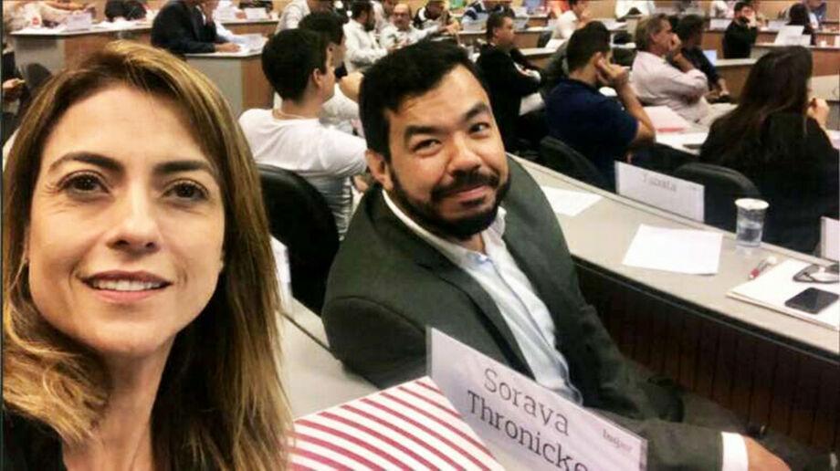 A senadora Soraya Thronicke e o deputado federal Trutis estão em guerra no PSL