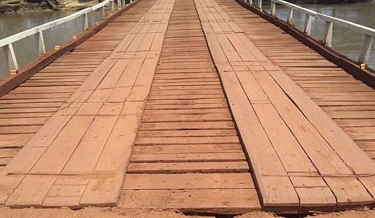 """A construção dessas estruturas faz parte do """"Programa Mais Pontes"""""""